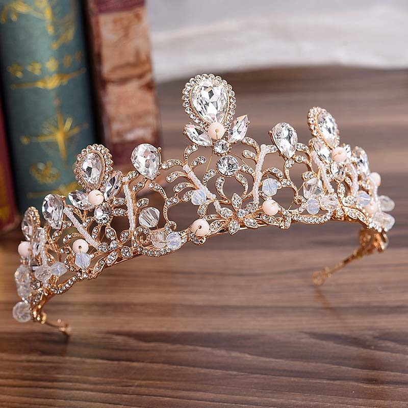 Blooming Crystals Tiara