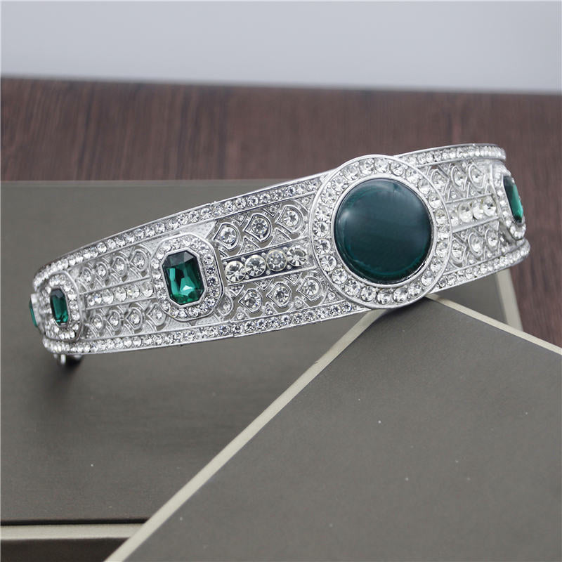 Celtic Emerald Tiara