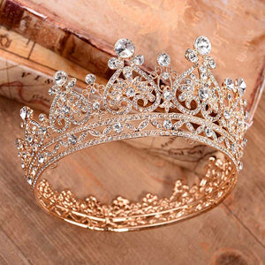 Golden Heart Shine Crown