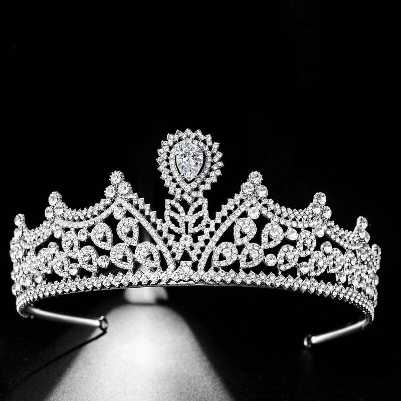 Crystal Filigree Tiara