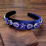 Midnight Amethyst Headband