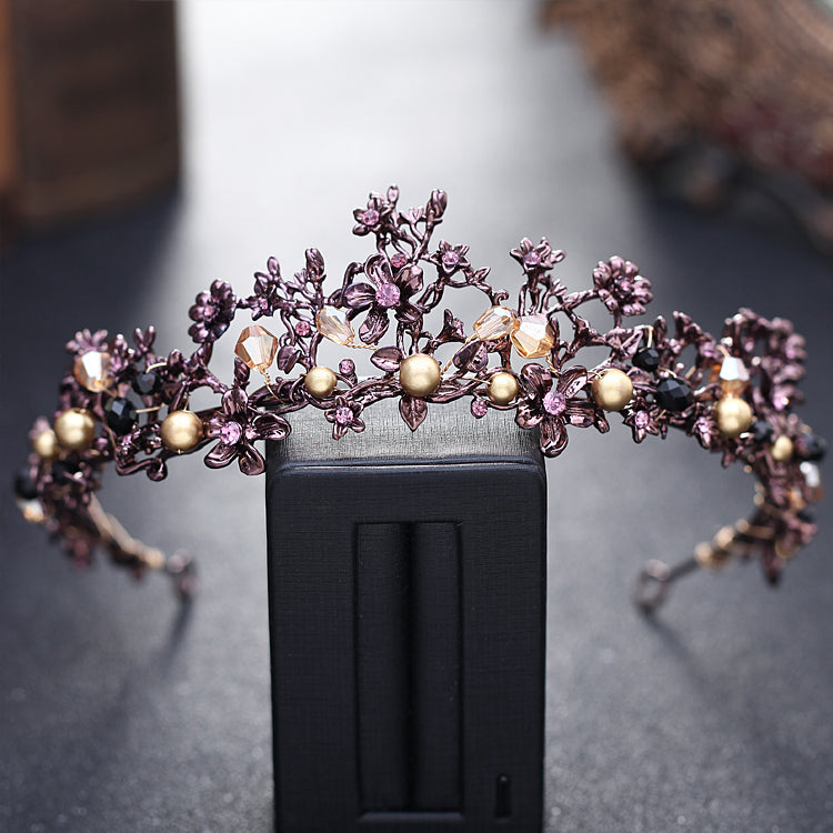 Enchanted Amethyst Forest Tiara