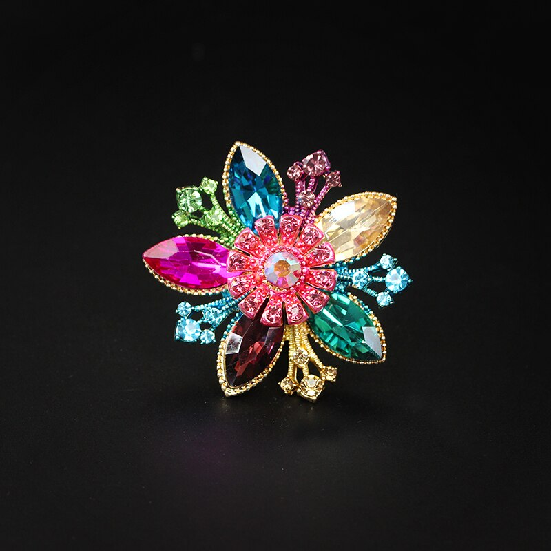 Gem Flower Ring