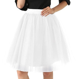 Layered Tulle Skirt