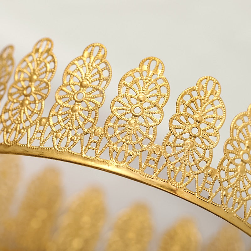 Golden Filigree Crown