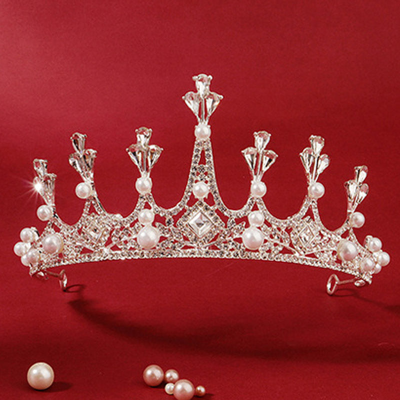 Regal Crystal Tiara