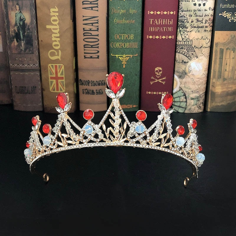 Ruby Scepter Tiara