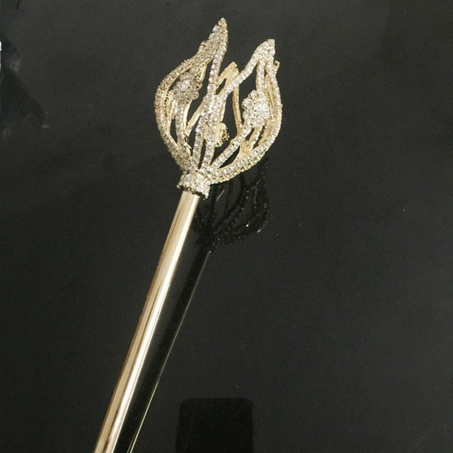 Gold Queen of Sheba Wand