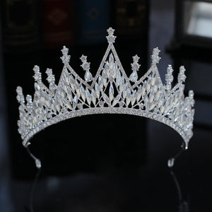Baroque Royalty Tiara