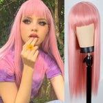 Pink Magic Straight Wig