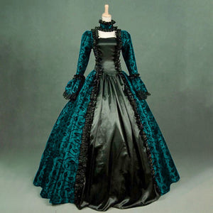 Medieval Gothic Lace Dress