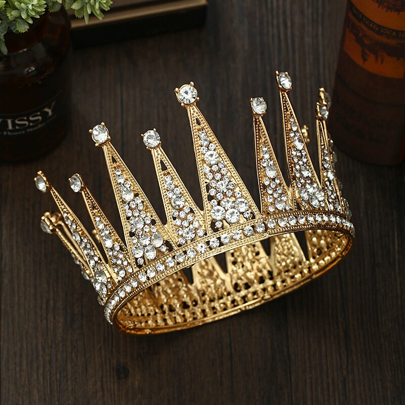 Golden Royalty Crown