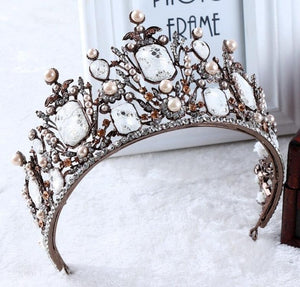 Marble Forest Tiara