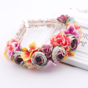 Colorful Floral Headband