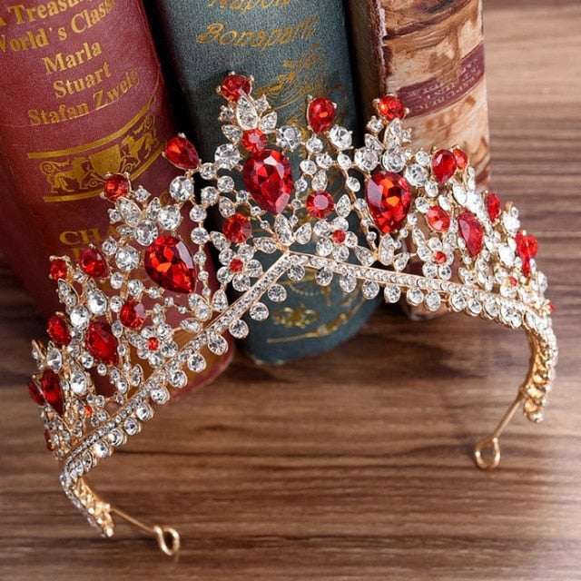 Baroque Ruby Tiara