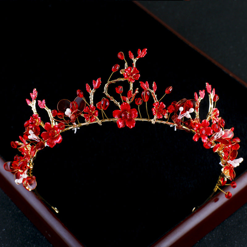 Ruby Meadow Tiara