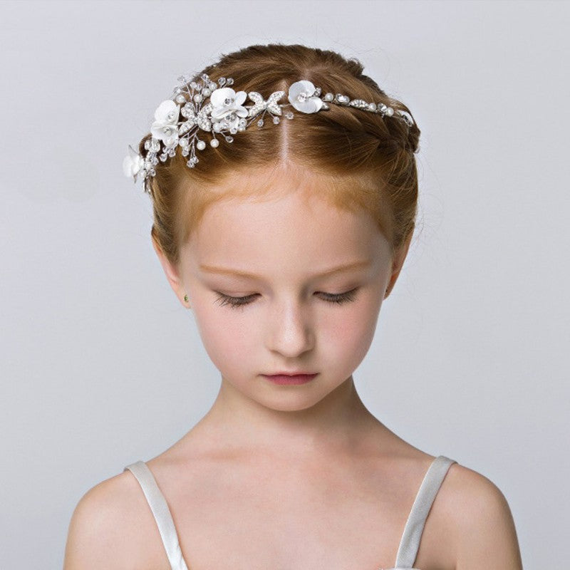 Pearls & Flowers Tiara