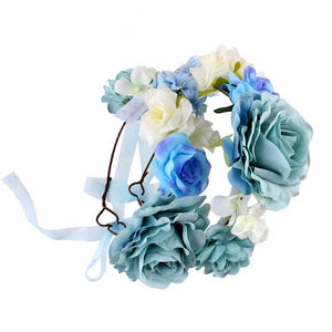 Mom and Baby Floral Tiara