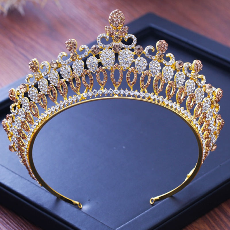 Golden Sparkle Tiara