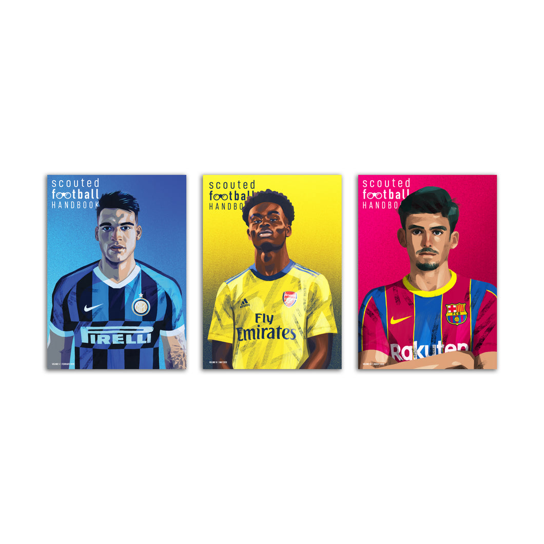 Scouted Football Handbook Bundle: Volumes V, VI & VII