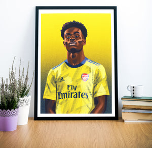 Limited Edition Print: Bukayo Saka