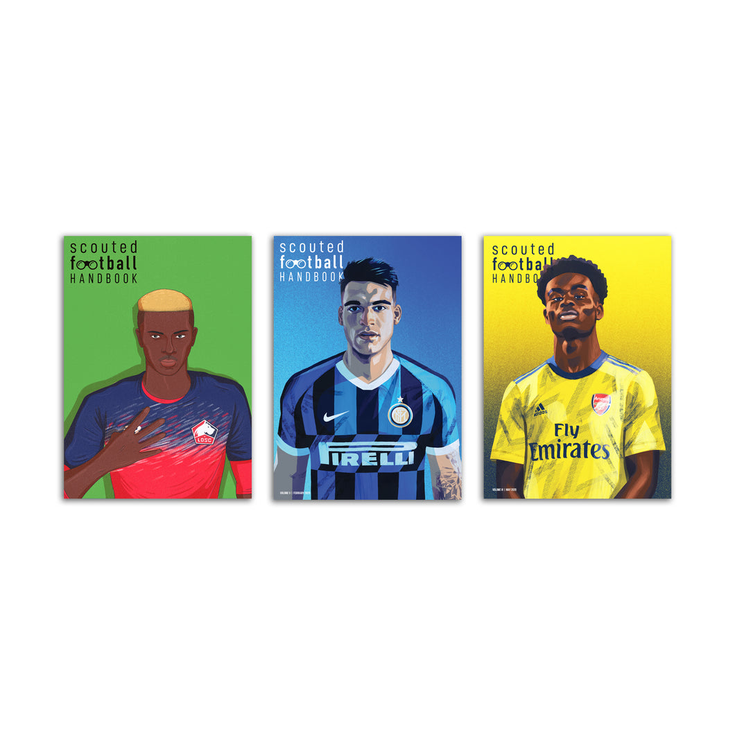 Scouted Football Handbook Bundle: Volumes IV, V & VI