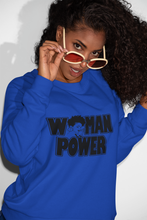 Load image into Gallery viewer, Woman Power Sweatshirts