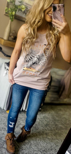 American Rebel Distressed Tank