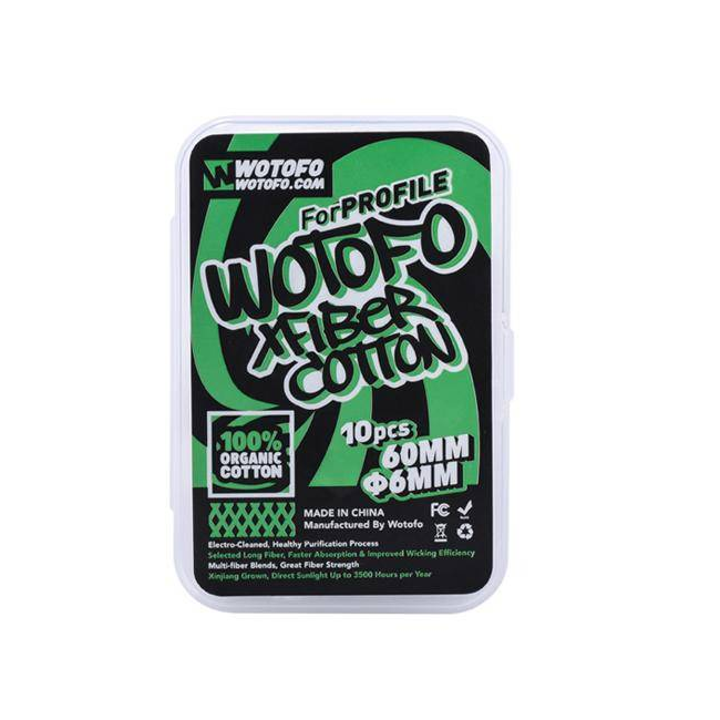 Wotofo XFiber 6mm Cotton