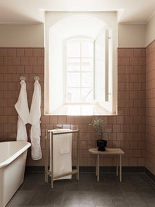 Steal This Look: A Swedish Bathroom with Retro Pink Tiles