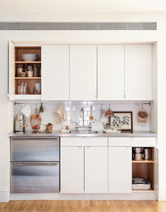 5 Space-Saving Ideas to Steal from a Brooklyn Kitchenette, Ikea Hack Included