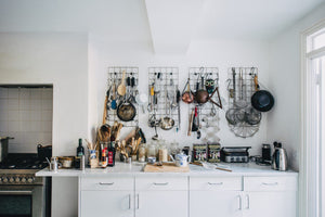 Aha! Hack: Is This the New Pegboard? Margot and Fergus Henderson's Clever Grid System