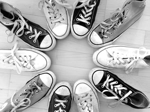 Converse shoes are one of the most popular shoes, especially for the 90s babies
