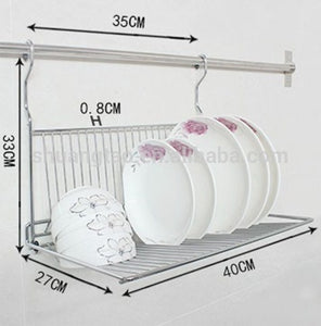 Picturesque Wall Mounted Dish Rack