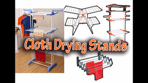 BestClothesDryingRacks #ClothDryingStand #ClothDryingHanger Product Link In Below : 1) Kumaka Powder-Coated Steel Double Pole Cloth Drying Laundry ...