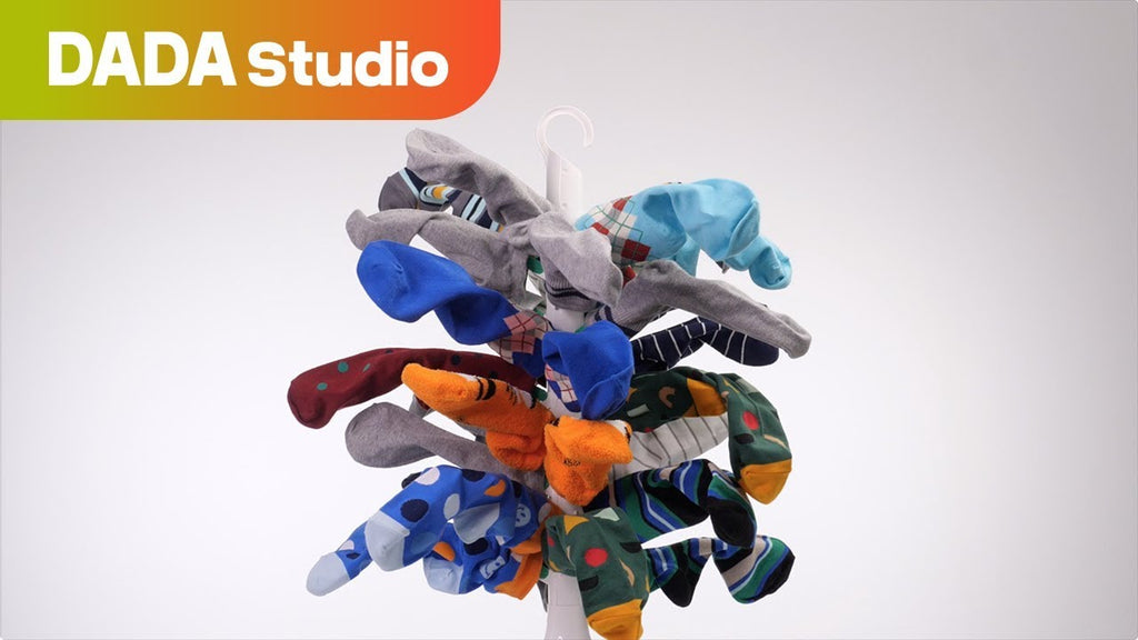 Use Tree Socks Drying Rack to dry your socks fast