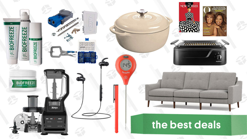 Saturday's Best Deals: Kreg Starter Kit, Razer Huntsman Pro, Burrow, ThermoPops, and More