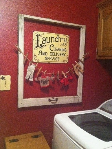 Nice To Look At Laundry Room Decor Ideas