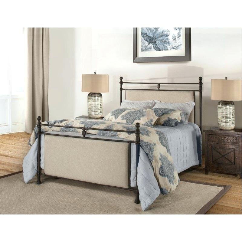 Excellent Iron Sleigh Bed