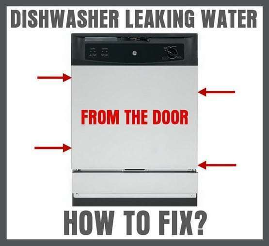 Beat Dishwasher Leaking From Door