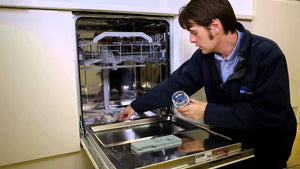 Little Space Clean Inside Of Dishwasher