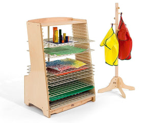 10 Extra Wire Racks by Community Playthings