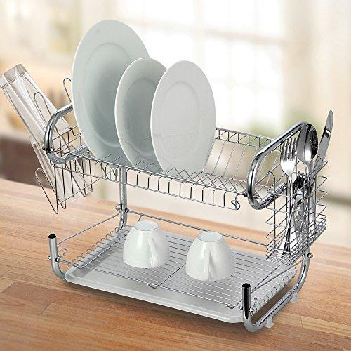 Dish Rack Double Layer