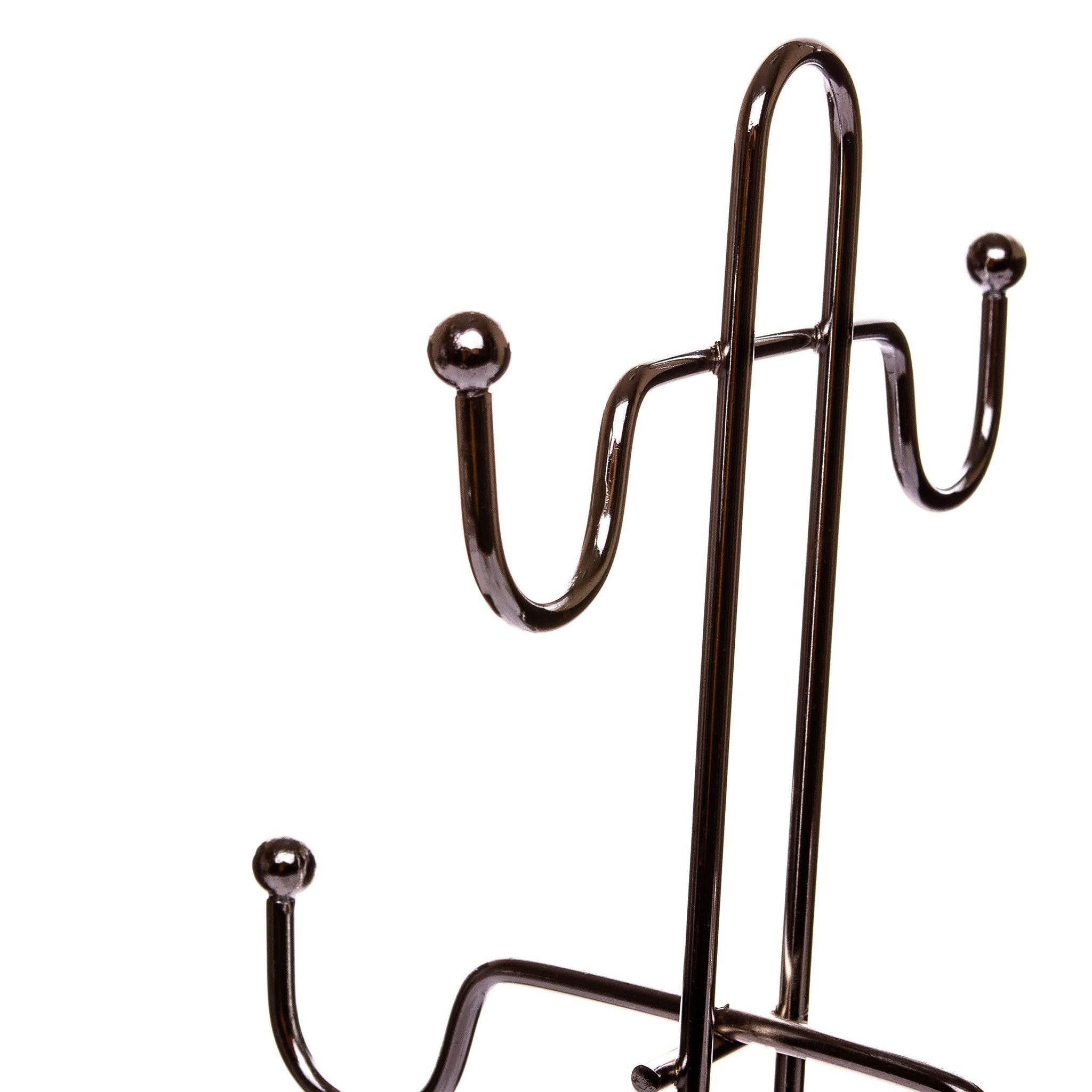OFXDD Coffee Mug Rack Stand, Restaurant Mug Rack, Mug Display Rack, Espresso Mug Rack