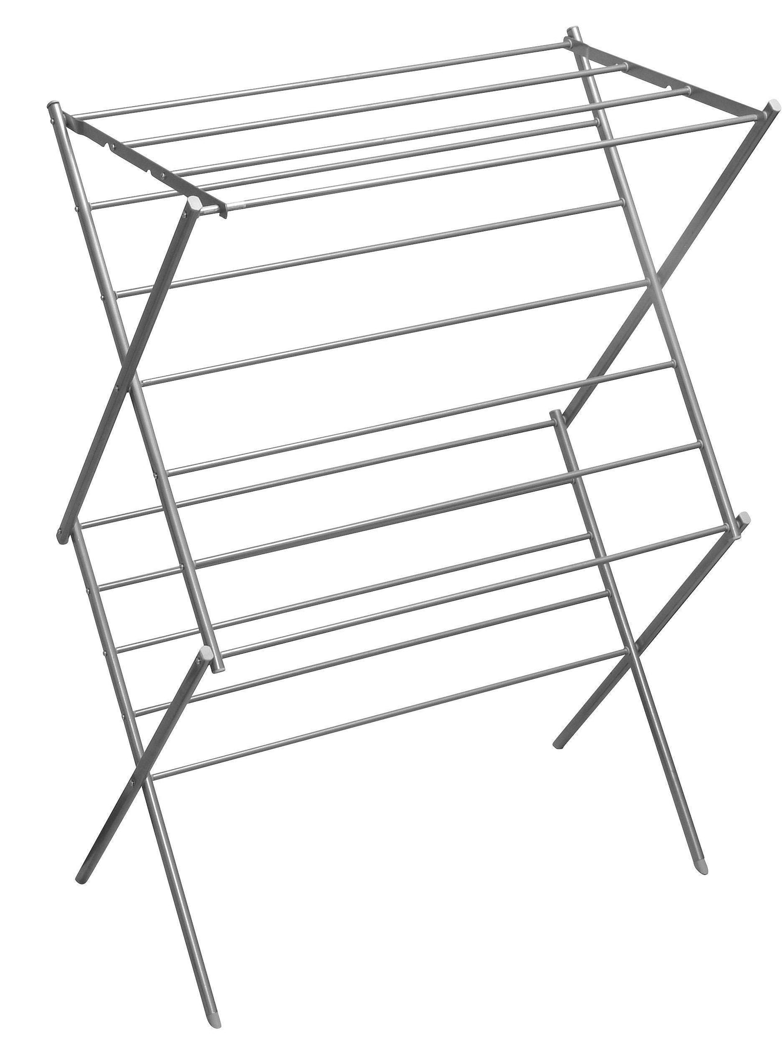 YBM HOME 2 Tier Deluxe Foldable Clothes Steel Drying Rack #1622-11