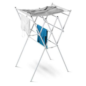 Expandable Drying Rack with Mesh Top, White Finish