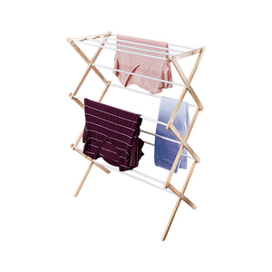 Wooden Laundry Drying Rack