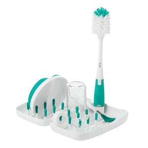 OXO Tot On-the-Go Drying Rack and Bottle Brush