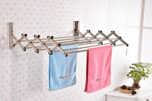 Retractable Clothes Drying Rack 3x60CMS