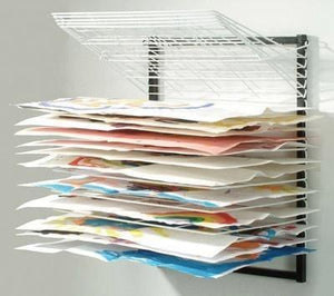 Wall-Mounted Drying Rack